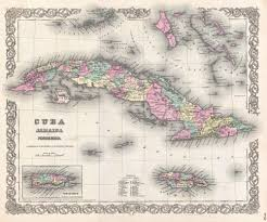 Cuban Map Cuban Coffee Industry After The Embargo Hiline Coffee Blog