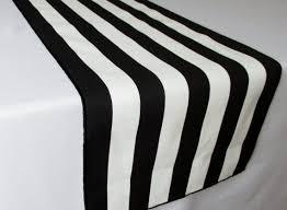 black white striped table runner black and white striped table runner wedding table runner