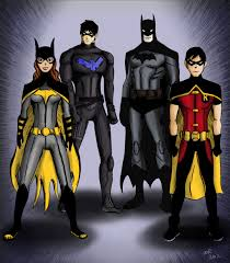 young justice young justice batman proteges by ayeri on deviantart
