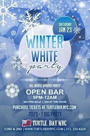 white out winter 2016 at turtle bay nyc