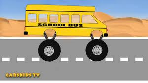 monster truck videos toys monster truck bus mega crushing сartoons u0026 toy for kids