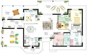 plan maison plain pied 5 chambres plan maison plain pied demeure de plain pied plan maison plain