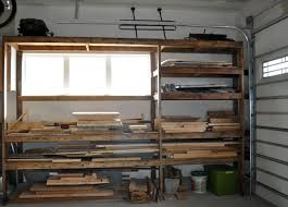 Building Wood Shelves Garage by How To Build Shelves And Texture Unfinished Walls In Your Garage
