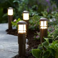 Led Pathway Landscape Lighting Better Homes And Gardens Prentiss Outdoor Quickfit Led Pathway