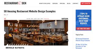 the top 20 restaurant blogs to read right now heropay