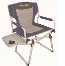 Folding Directors Chair With Side Table Outdoor Connection Easy Fold Directors Chair Chairs Pinterest