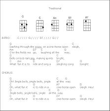 christmas carols ukulele inspiring ideas pinterest sheet