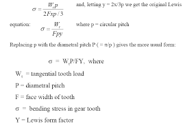 Resume Parser Php Lewis Factor Equation For Gear Tooth Calculations Engineers Edge