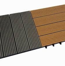 eco composite wood deck tiles ecw td 01 300x300x20mm