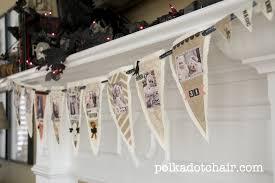 printable fabric halloween banner the polkadot chair