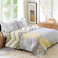 better homes and gardens quilt collection yellow floral walmart