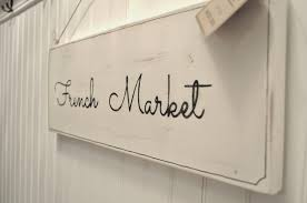 barefoot stamp wall decor ideas french country style