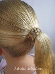 ribbon ponytail braids and ribbon hairstyle in hairland