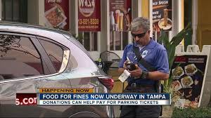 pay less for your parking tickets and help needy families with