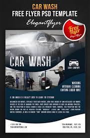 car wash free flyer psd template facebook cove by webstroy80