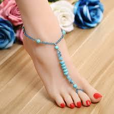 barefoot sandals wedding zoshi 2017 ankle bracelet wedding barefoot sandals foot