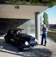 jay leno with 1938 vw beetle eurocar news