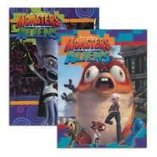 amazon monsters aliens coloring u0026 activity book 96 pg