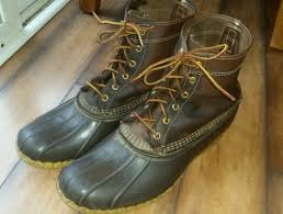 ll bean s boots size 12 8 bean boots by ll bean s size 12 w brown what s it worth