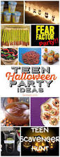 Easy Halloween Party Appetizers Best 20 Teen Halloween Party Ideas On Pinterest Halloween