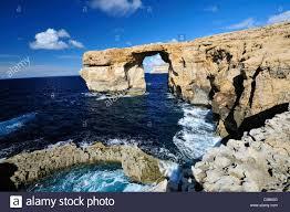 Azure Window by Azure Window Dwejra Bay Saint Lawrence Gozo Island Malta