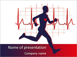 cardio training powerpoint template u0026 backgrounds id 0000007005