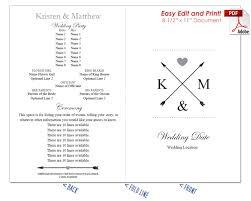 easy wedding program template wedding fan templates warm color options at crafty sticks