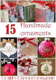 15 personalized tree ornaments crafty cleverness