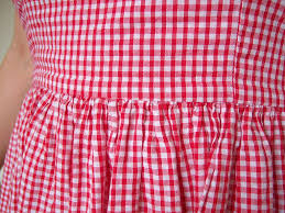 red gingham loveliness sew amy sew