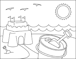 summer coloring pages exprimartdesign