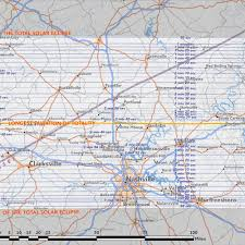 Map Of Nashville Tennessee by Best Places To View U2014 Total Solar Eclipse Of Aug 21 2017