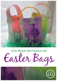 easter bags easy easter bags teaching 2 and 3 year olds