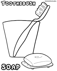 toothbrush coloring pages coloring pages to download and print