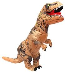 t rex costume t rex costume suit party brown by seasonblow