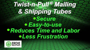 twist n pull mailing and shipping tubes safe way to ship