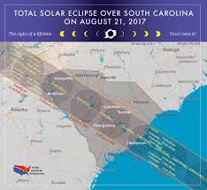 Murrells Inlet Map Great American Eclipse Events Along The Grand Strand Wpde