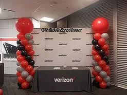 balloon columns s balloon decor dallas balloon decorators balloon decorations