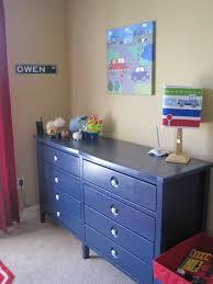 Dresser Bedroom Furniture by Navy Blue Dresser Zachary Navy Blue 6 Drawers Dresser Industrial