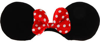 template for mickey mouse ears