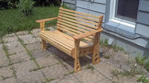 Plans For Building A Wooden Bench by Exterior Cheerful Design Ideas In Building A Wooden Bench For