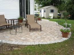Ideas For Backyard Patio by Backyard Stone Patio Designs Home Design