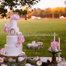 european dessert table decoration high cake cake tray wedding cake