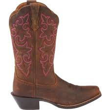 ariat womens cowboy boots size 12 ariat s up square toe cowboy boots academy