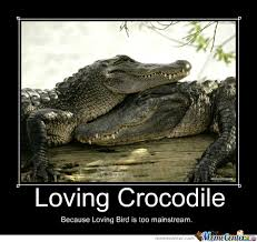 Crocodile Meme - loving crocodile by acel meme center