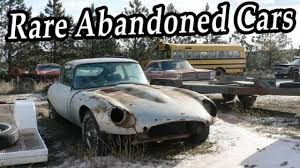 junkyard car youtube rare abandoned cars junkyard old abandoned rusty cars wreck found