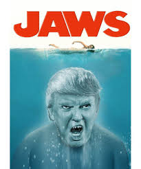 Jaws Meme - donald trump jaws meme this shark swallow you whole chief