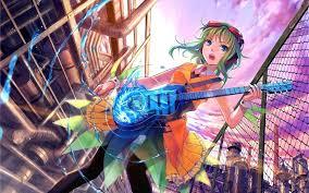 anime music girl wallpaper anime music girl hd desktop wallpaper 21391 baltana