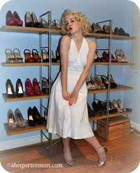 Marilyn Monroe Costume Halloween Shoeper Shoe Challenge 55 Marilyn Monroe Halloween Costume