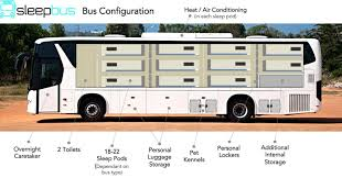 Sleeping Pods by This Bus Would Provide A Safe Place For The Homeless To Sleep