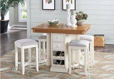 red hook pecan 5 pc counter height dining room 899 00 find